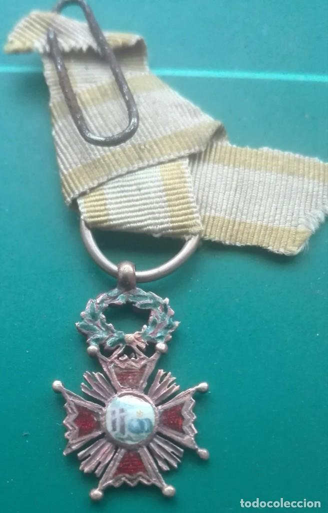 Militaria: Retrato con medallas. 1915. Isabel la Católica - Foto 11 - 203839413