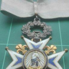 Militaria: ENCOMIENDA ORDEN DE CARLOS III. ISABEL II, ALFONSO XII. Lote 203840032
