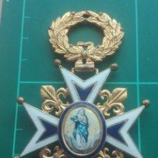 Militaria: ENCOMIENDA ORDEN DE CARLOS III. ISABEL II, ALFONSO XII. Lote 203840582