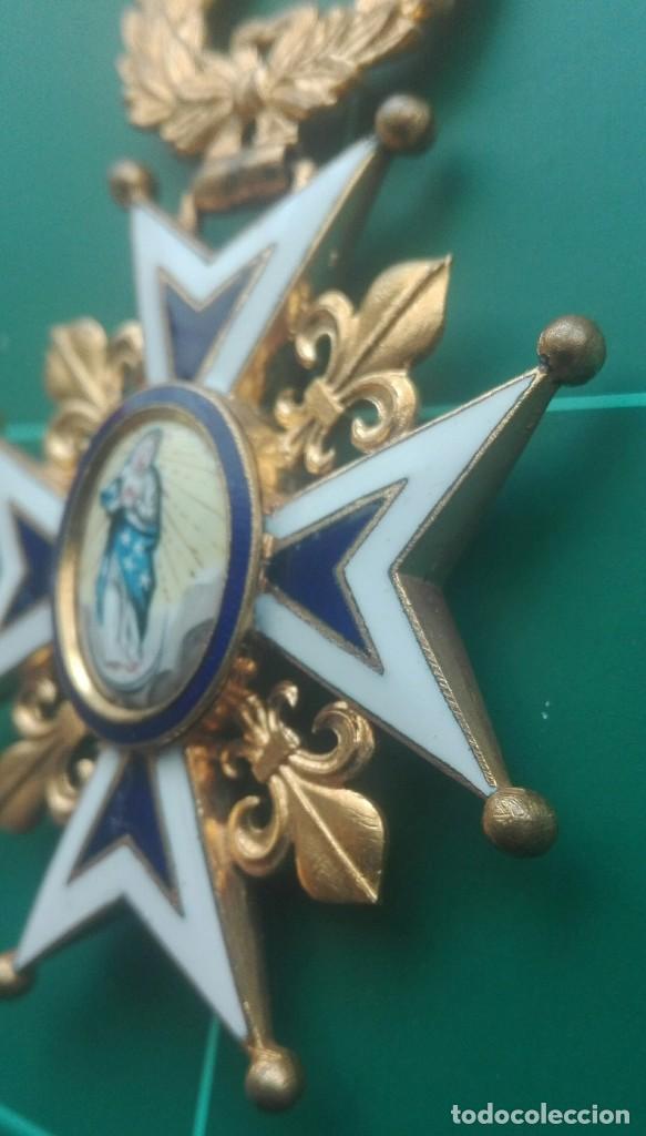 Militaria: Encomienda Orden de Carlos III. Isabel II, Alfonso XII - Foto 4 - 203840582
