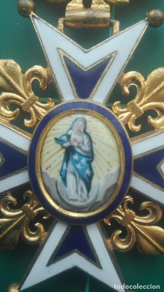 Militaria: Encomienda Orden de Carlos III. Isabel II, Alfonso XII - Foto 6 - 203840582