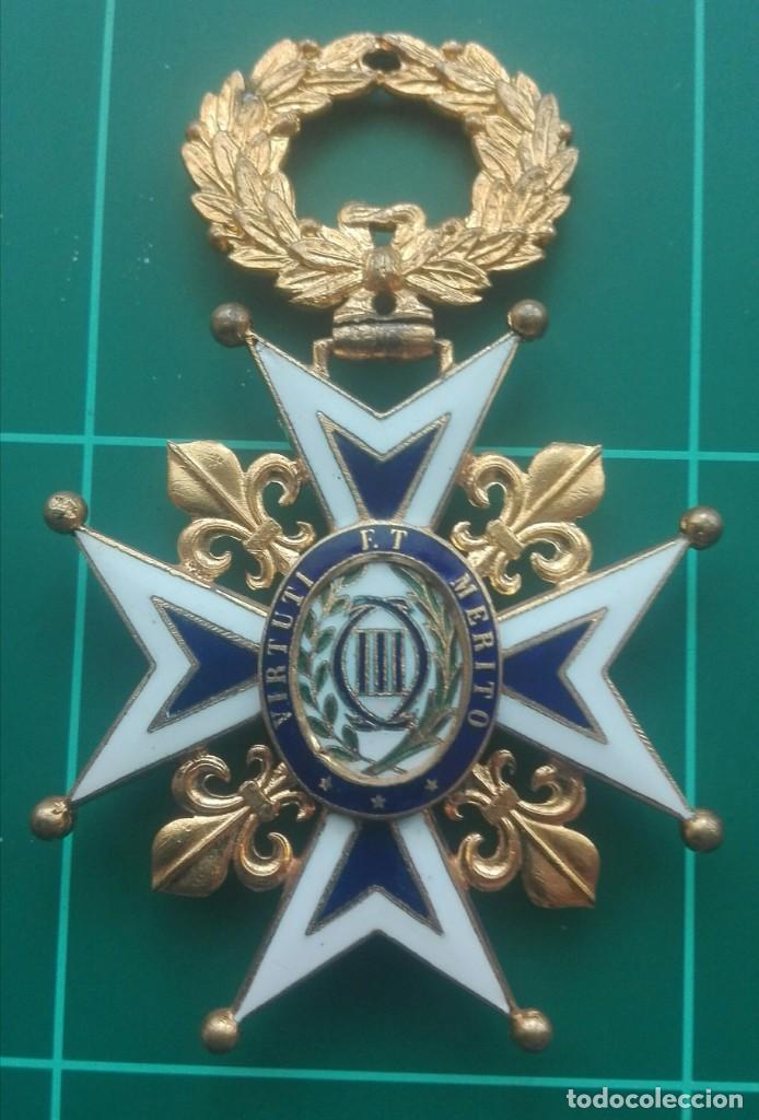 Militaria: Encomienda Orden de Carlos III. Isabel II, Alfonso XII - Foto 7 - 203840582