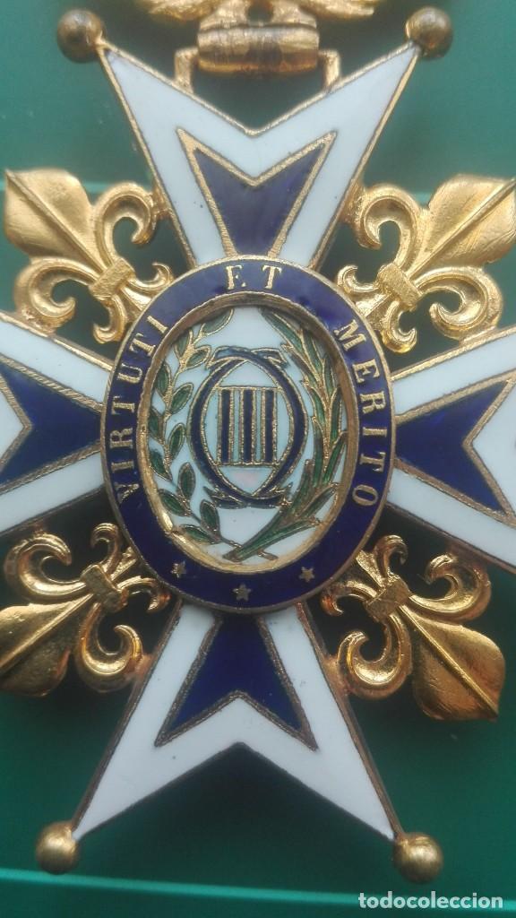 Militaria: Encomienda Orden de Carlos III. Isabel II, Alfonso XII - Foto 8 - 203840582