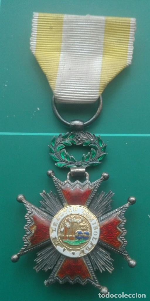 Militaria: Cruz Orden de Isabel la Católica - Foto 4 - 203840837