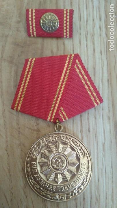 MEDALLA DDR REPUBLICA DEMOCRATICA ALEMANA (Militar - Medallas Internacionales Originales)