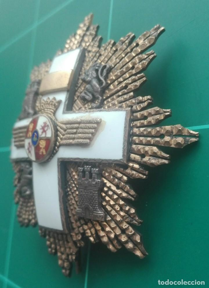 Militaria: Placa Gran Cruz Mérito Aeronáutico. Franco - Foto 3 - 203893427