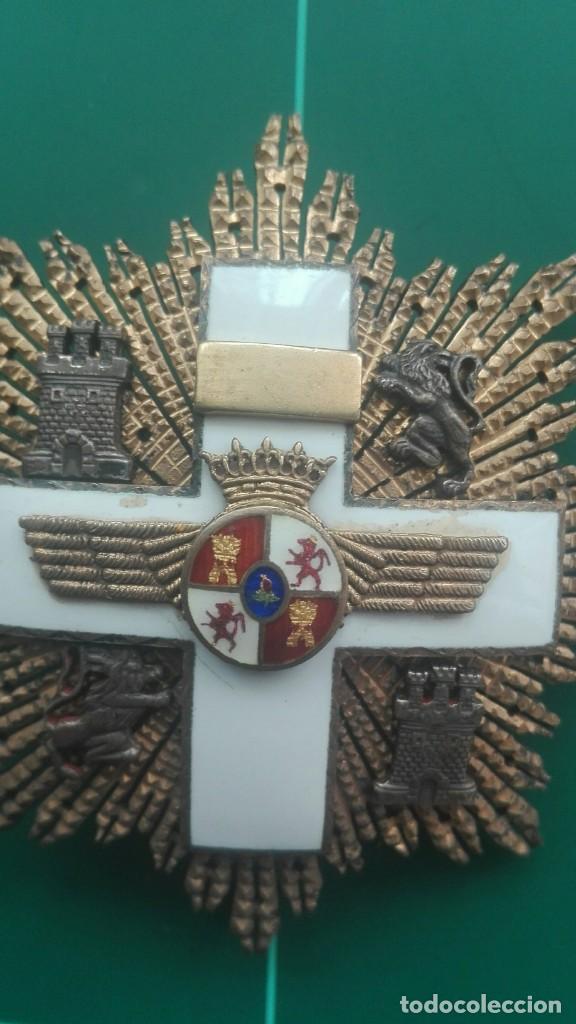 Militaria: Placa Gran Cruz Mérito Aeronáutico. Franco - Foto 5 - 203893427