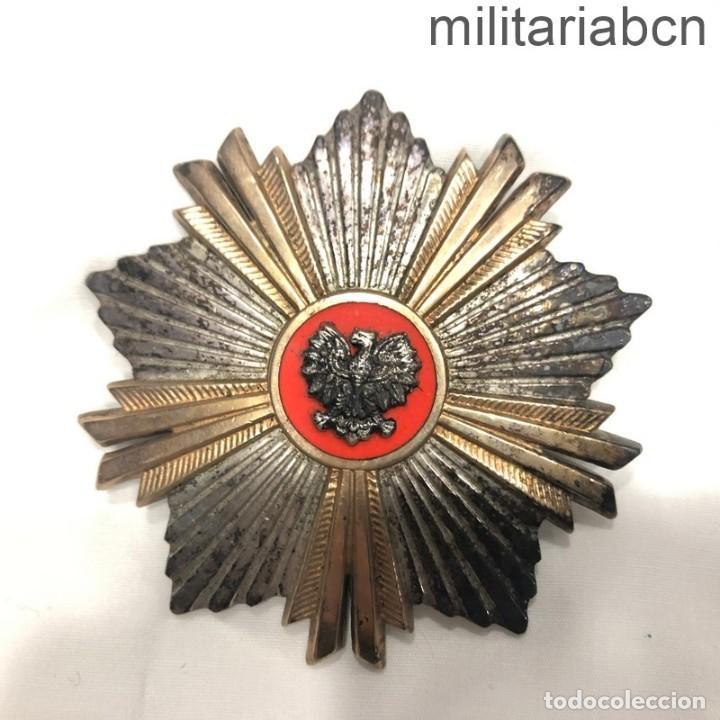 POLONIA. ORDEN DEL MÉRITO DE LA REPÚBLICA POPULAR. PLACA GRAN CRUZ. (Militar - Medallas Extranjeras Originales)