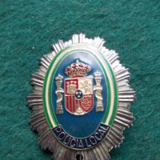 Militaria: CHAPA POLICIA LOCAL. Lote 203990756