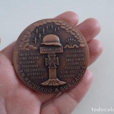 Militaria: MEDALLA ORIGINAL DE LA DIVISION AZUL 50 ANIVERSARIO. NUMERADA 500.. Lote 204685545