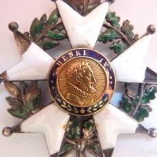 Militaria: FRANCIA - MEDALLA DE LA ORDEN LEGIÓN DE HONOR FRANCESA - 1830 - 1848 LUIS FELIPE DE ORLEANS (V2). Lote 175225062