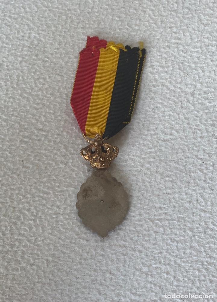 Militaria: Medalla belga del mérito al trabajo - Foto 2 - 204728440