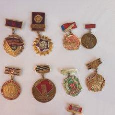 Militaria: LOTE DE MEDALLAS SOVIETICAS. Lote 205017657