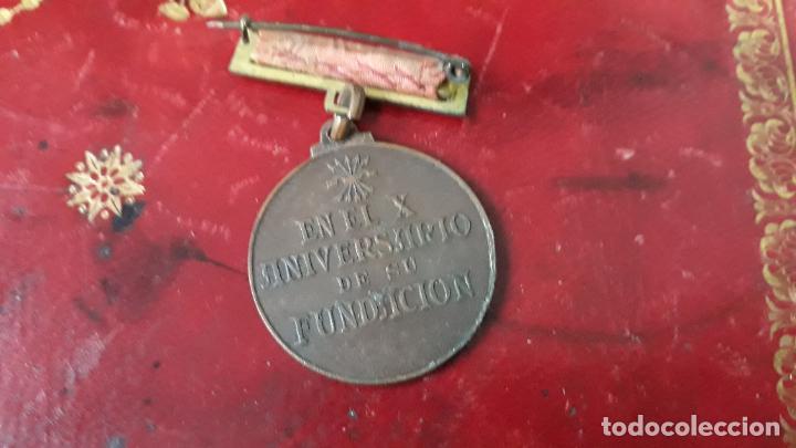 Militaria: medalla de la seccion femenina en el x aniversario de su fundacion 1944 - Foto 2 - 205340356