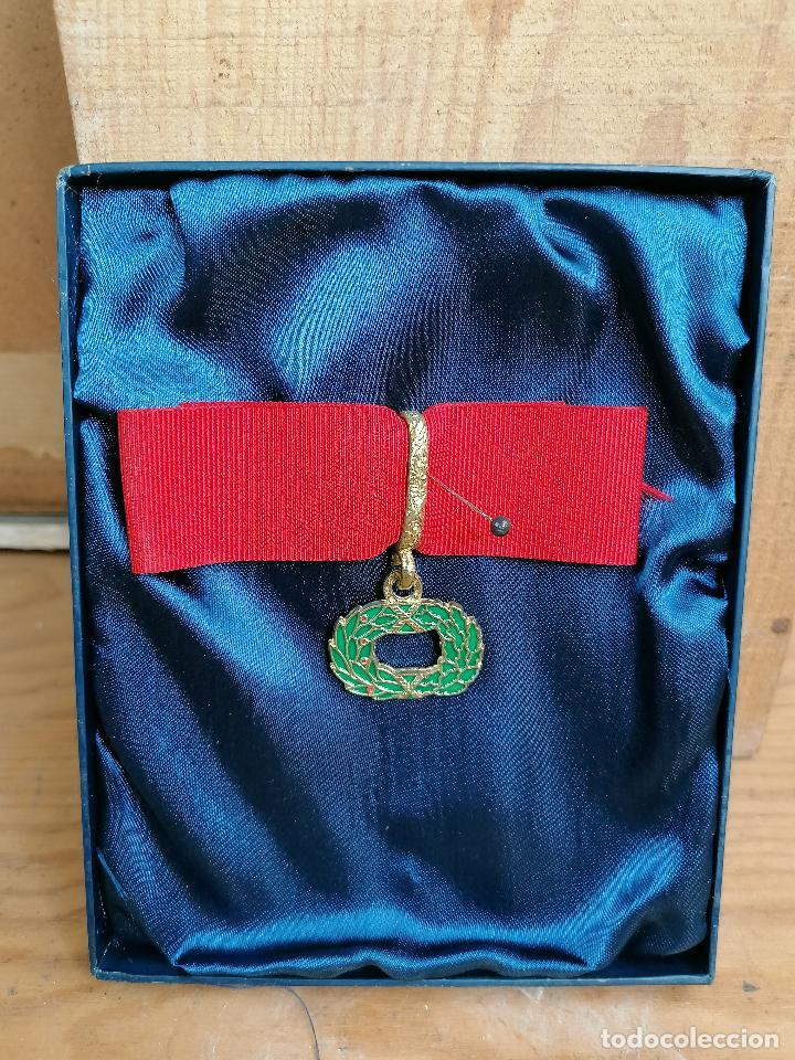 Militaria: replica de medalla militar en caja - Foto 2 - 205538485