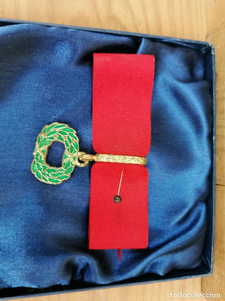 Militaria: replica de medalla militar en caja - Foto 3 - 205538485