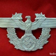 Militaria: WWII GERMAN EAGLE POLICE POLIZEI SHAKO 16X8CM. Lote 205567362