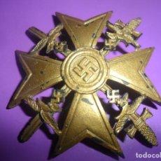 Militaria: MEDALLA LEGION CONDOR -SPANIENKREUZ- CON ESPADAS, REPRODUCCION. Lote 205690722