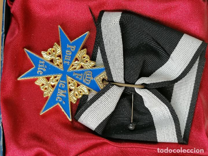 Militaria: REPLICA MEDALLA MILITAR O CIVIL EN CAJA - Foto 2 - 205700196