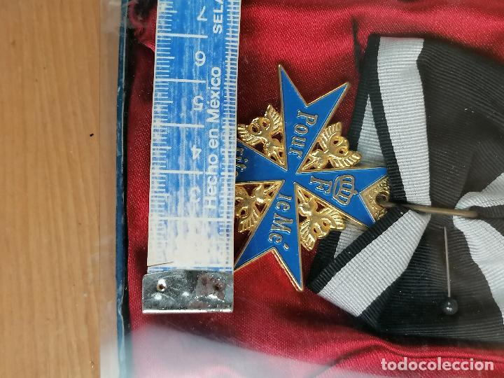 Militaria: REPLICA MEDALLA MILITAR O CIVIL EN CAJA - Foto 3 - 205700196