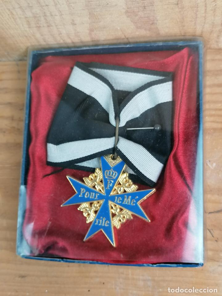 REPLICA MEDALLA MILITAR O CIVIL EN CAJA (Militar - Reproducciones y Réplicas de Medallas )