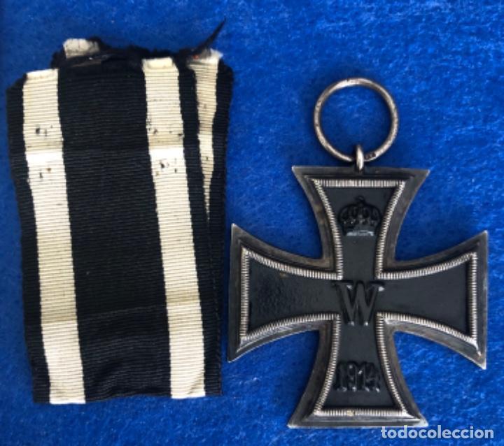 Militaria: Medalla Cruz de hierro 2 clase y documento concesión - Foto 3 - 205751651