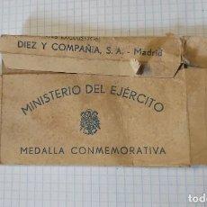 Militaria: CAJA VACÍA DE MEDALLA DE LA DIVISIÓN AZUL. Lote 206258853