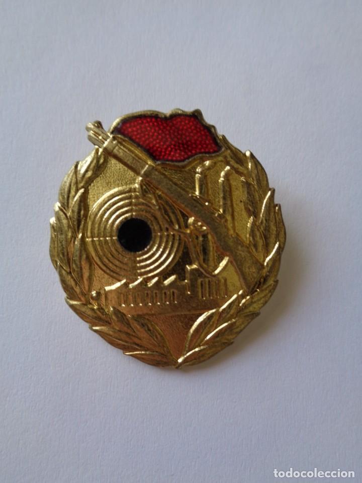 MEDALLA - INSIGNIA, BUEN TIRADOR, I CAT., ALEMAN-DDR. 100% ORIGINAL DE LA EPOCA (Militar - Medallas Internacionales Originales)
