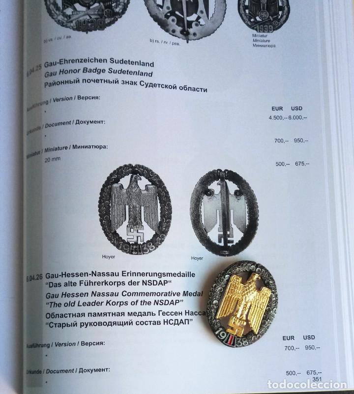 Militaria: Insignia aquila 1938.Tercer Reich. nazi.Antiguo liderazgo de NSDAP - Foto 2 - 206398718