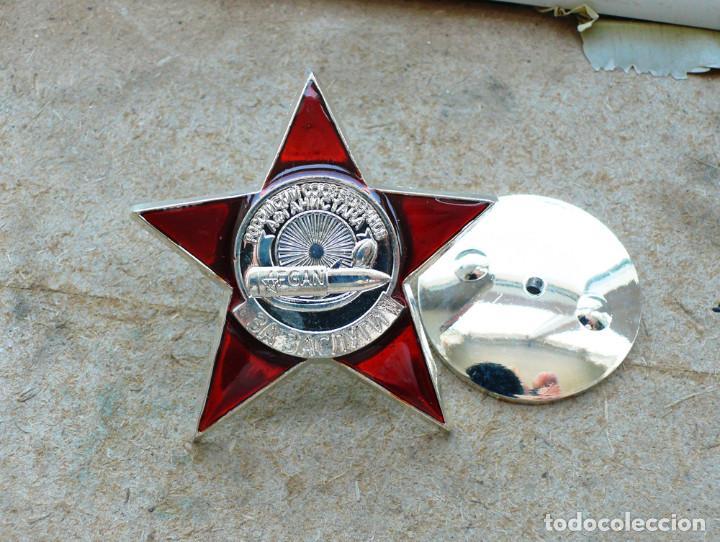 Militaria: medalla ORDEN por méritos. Unión de Veteranos de Afganistán RUSIA SOVIETICA URSS - Foto 5 - 206449390