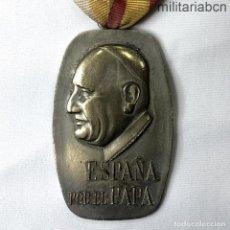 Militaria: ESPAÑA. MEDALLA DE LA CNS. CONFEDERACIÓN NACIONAL DE SINDICATOS. PEREGRINACIÓN A ROMA. NOVIEMBRE 196. Lote 206469433