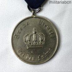 Militaria: ALEMANIA. PRUSIA. MEDALLA DE 9 AÑOS DE SERVICIO EN EL EJÉRCITO. PREUSSEN DIENSTAUSZEICHNUNG FÜR UNTER. Lote 206469596