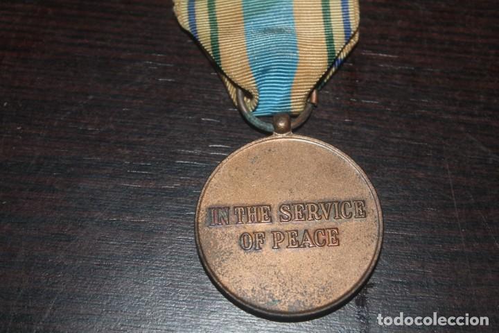 Militaria: lote de una caja unef danor-bn gaza con 2 fotos 1 medalla 1 placa 1 caja de cerilla de piel - Foto 6 - 206479361