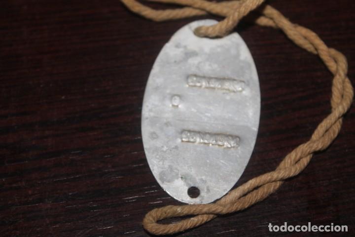 Militaria: lote de una caja unef danor-bn gaza con 2 fotos 1 medalla 1 placa 1 caja de cerilla de piel - Foto 8 - 206479361