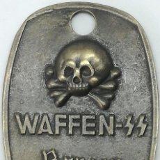 Militaria: RÉPLICA CHAPA DE IDENTIFICACIÓN WAFFEN SS BERLIN 1939. ALEMANIA. 1939-1945. II GUERRA MUNDIAL. Lote 206846582