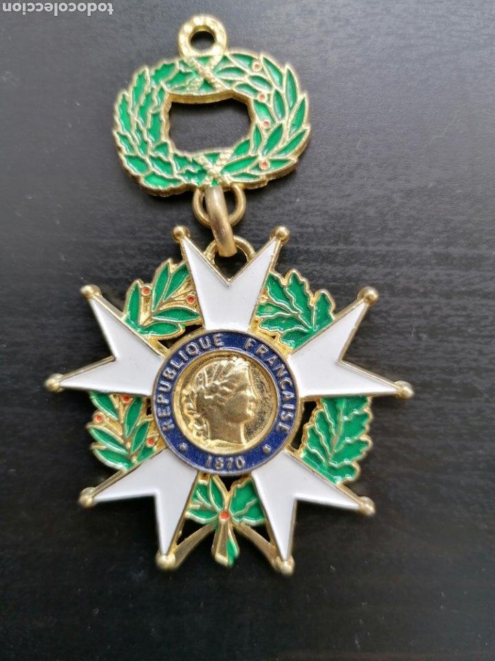 Militaria: Francia Medalla laureles - Foto 2 - 206957647