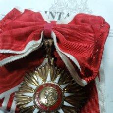 Militaria: VENERA DE LA GRAN CRUZ DE LA ORDEN DE MERITO DE ARGENTINA. Lote 207061153