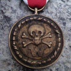Militaria: INTERESANTE MEDALLA ALEMANIA NAZI III REICH DIVISIONES DE COMBATE CALAVERA 2ªG.M DE LAS WAFFEN SS. Lote 207077773