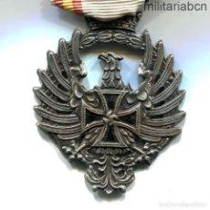 Militaria: ESPAÑA. MEDALLA DE LA DIVISIÓN AZUL.VERSIÓN ESPAÑOLA.FABRICADA POR DÍEZ Y CIA.1943. Lote 207089120