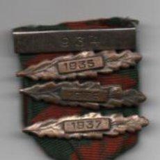 Militaria: CINTA CON PASADORES DE LOS AÑOS--1934 - 1935 - 1936 - 1937- 100% ORIGINAL- VER FOTOS. Lote 207342635