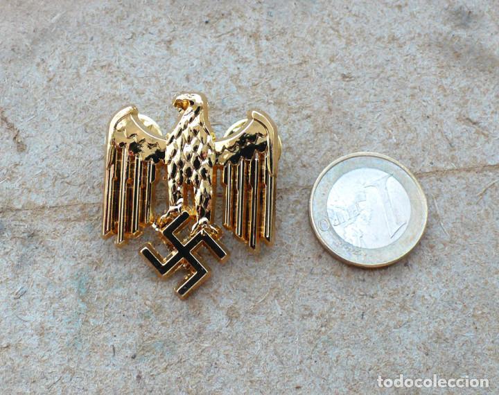 TERCER REICH.INSIGNIA PIN AQUILA. ORO (Militar - Reproducciones y Réplicas de Medallas )