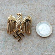 Militaria: TERCER REICH.INSIGNIA PIN AQUILA. ORO. Lote 207604571