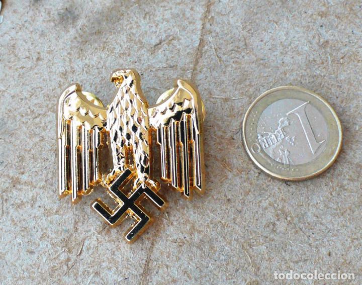 Militaria: TERCER REICH.insignia pin aquila. oro - Foto 2 - 207604571