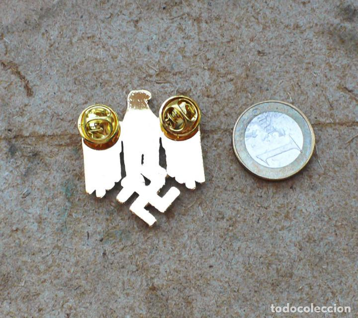 Militaria: TERCER REICH.insignia pin aquila. oro - Foto 3 - 207604571