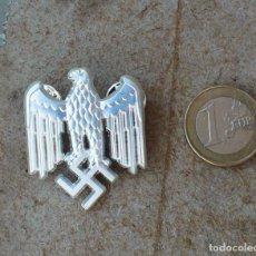 Militaria: TERCER REICH.INSIGNIA PIN AQUILA.PLATA. Lote 218295673