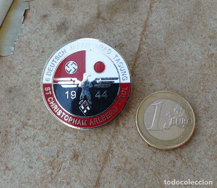 TERCER REICH.INSIGNIA PIN 6 CONFERENCIA DE ALEMANIA JAPÓN ARAD (Militar - Reproducciones y Réplicas de Medallas )