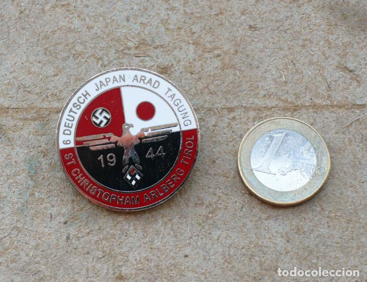 Militaria: TERCER REICH.insignia pin 6 conferencia de alemania japón arad - Foto 4 - 207605281