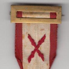 Militaria: 1937 MEDALLA LIBERACION, TOMA DE BILBAO CARLISTA REQUETE. NEC POTES IN MOESTOS OMNIS ABIRE ROGOS. Lote 207981801