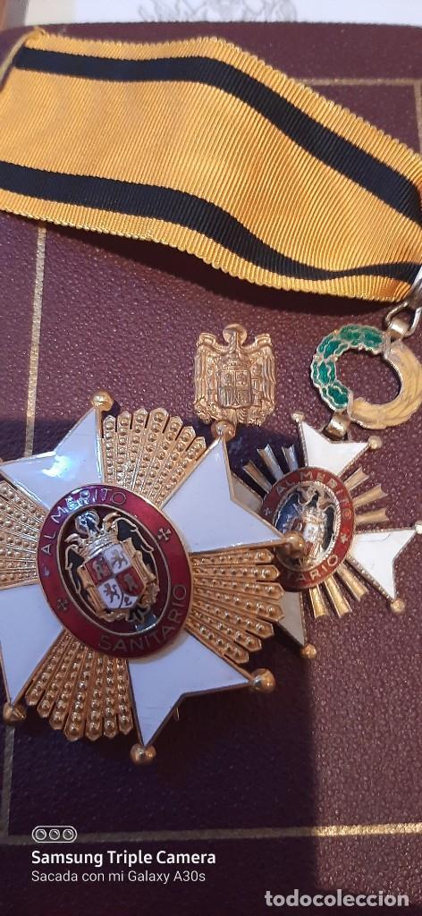 Militaria: Orden de Sanidad al mérito española - Foto 4 - 208019707