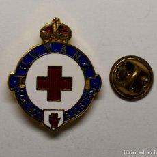 Militaria: RARA INSIGNIA DE LOS VOLUNTARIOS DEL CUERPO DE MEDICOS Y ENFERMERAS DE CRUZ ROJA DEL ULSTER.. Lote 208184338